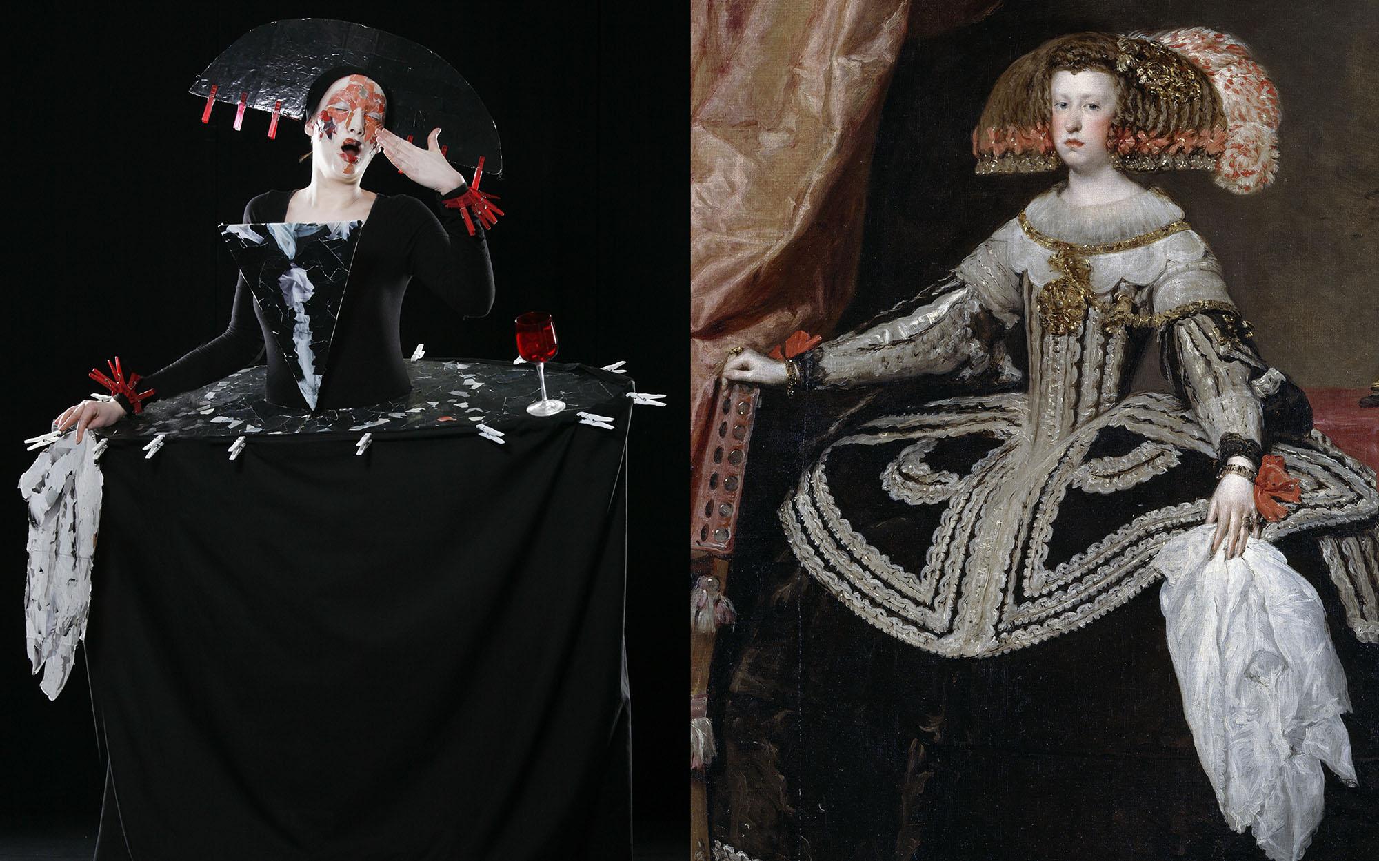 Diego Velazquez   Maria Anna von Oesterreich 3 a