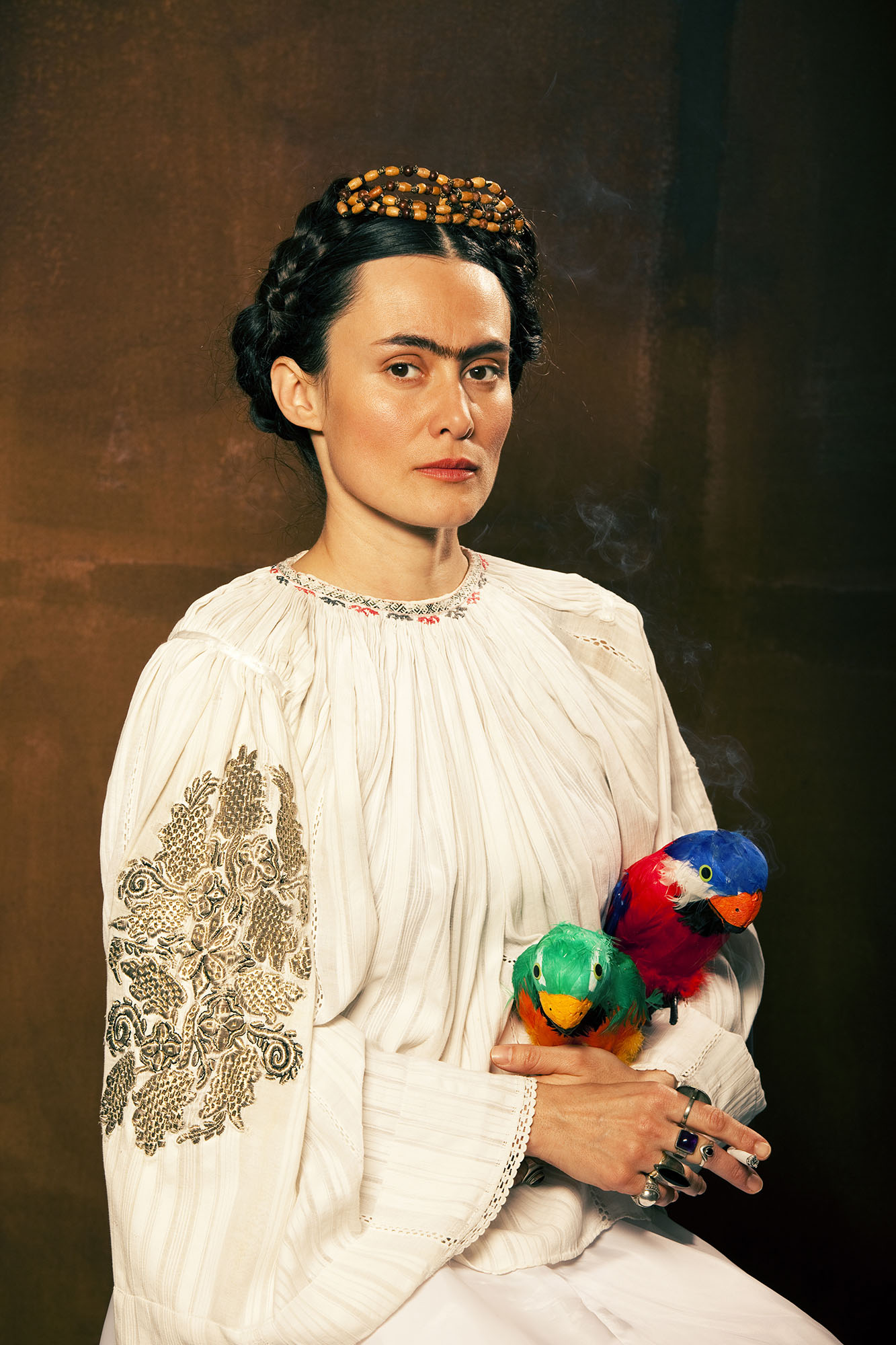 A journey through the eyes of frida kahlo