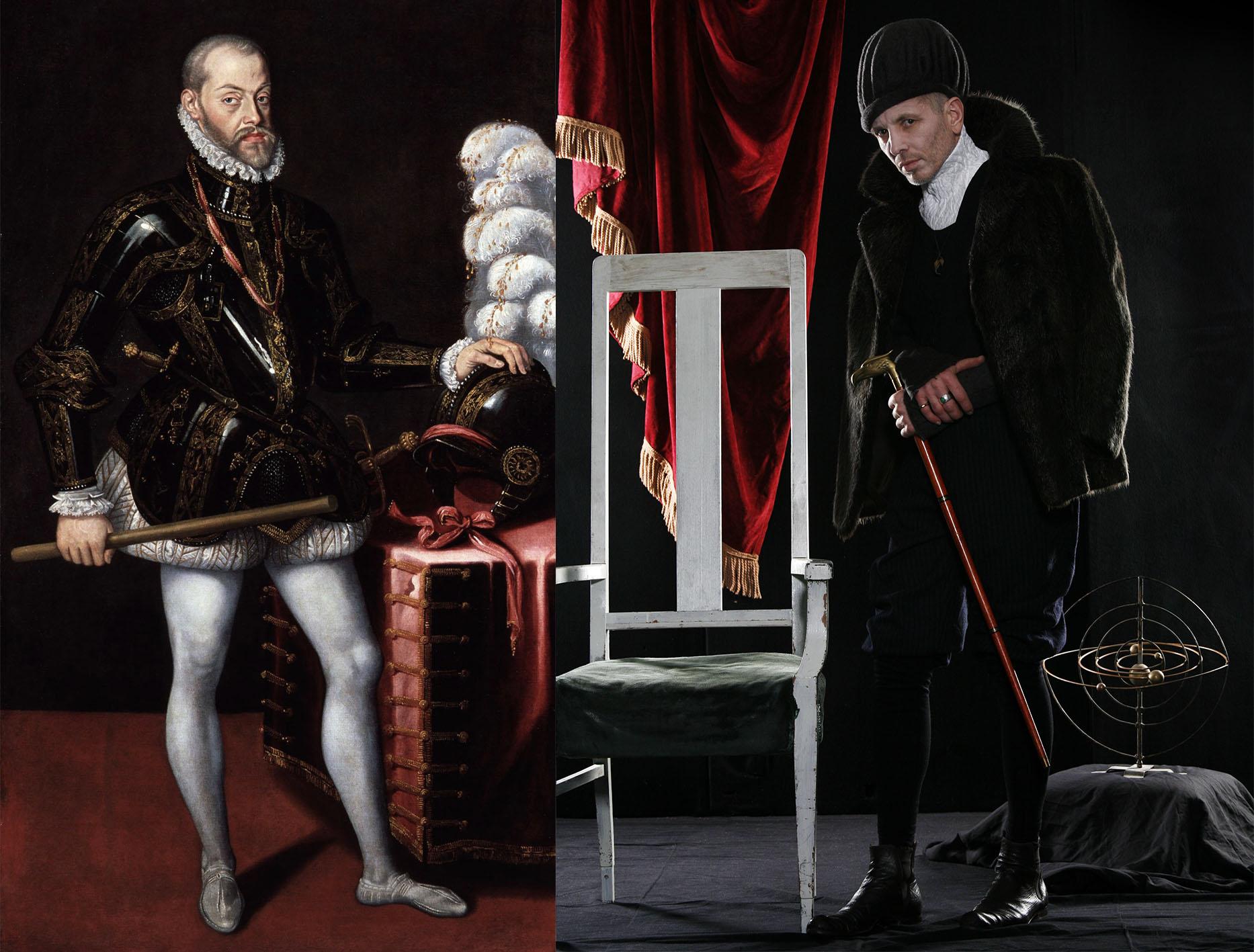 Philip II King of Spain a