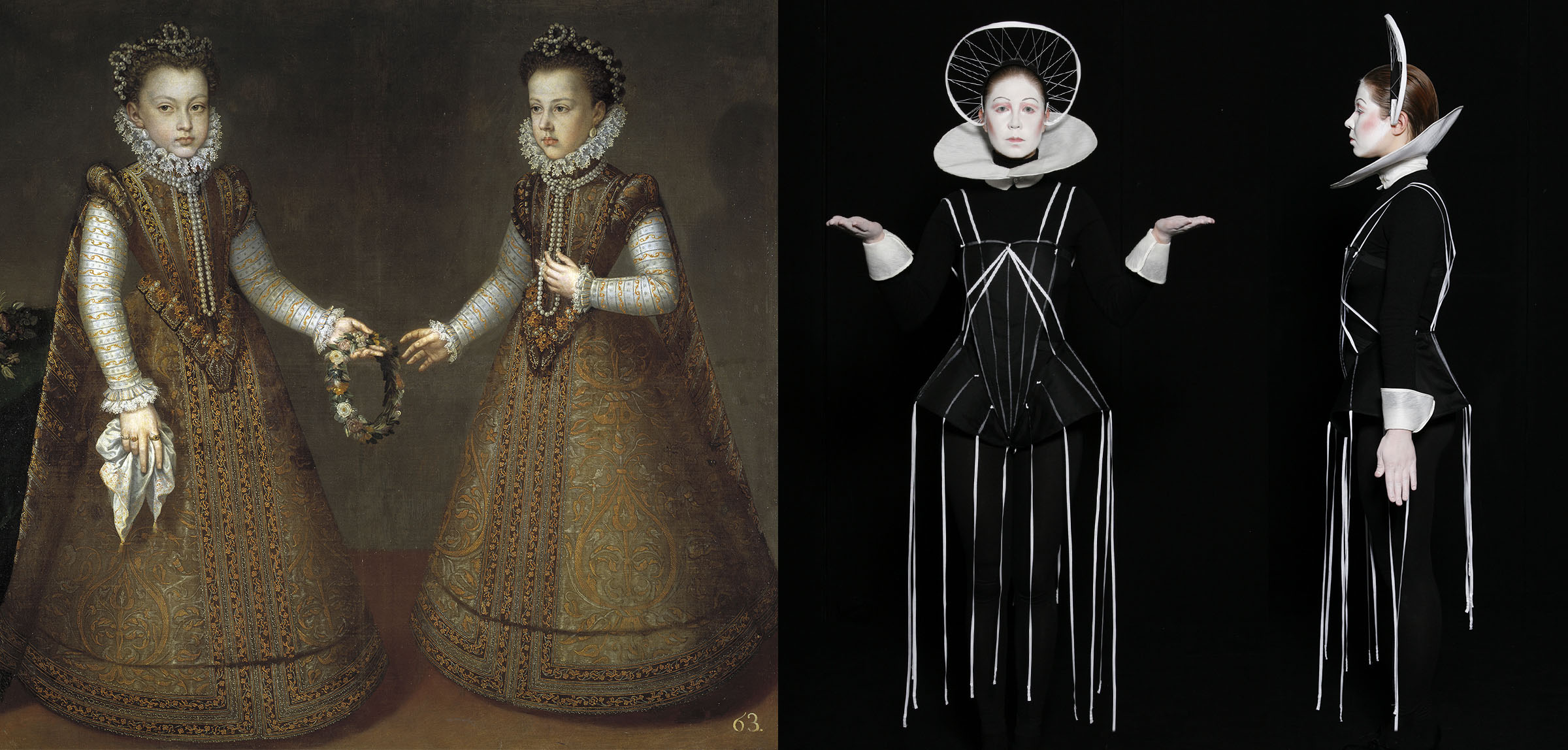 Sanchez Coello – Infanta Isabel Clara Eugenia 3 a