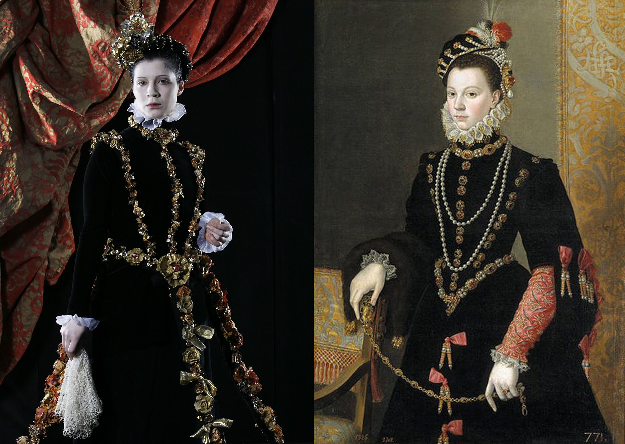Sofonisba Anguissola – elizabeth-of-valois-third-wife-of-philip-2-of-spain (2) a
