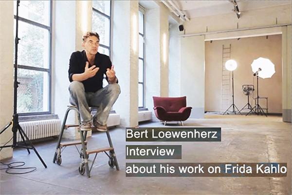 Bert Loewenherz – Interview about his work on Frida Kahlo
